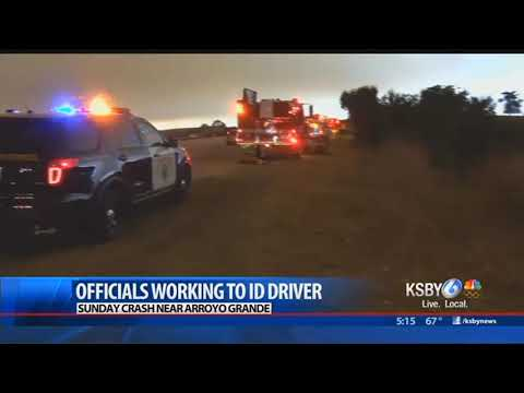 Officials working to confirm identity of driver killed in crash outside Arroyo Grande