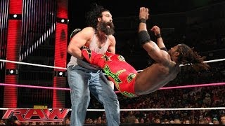 The Miz and Kofi Kingsrton team together to face the bizarre Wyatt ...