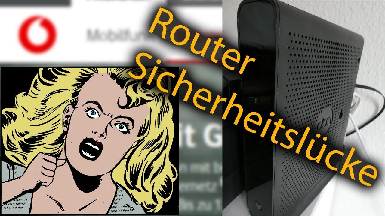 Auf Vodafone Router Zugreifen