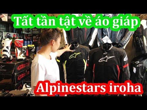 Áo giáp Alpinestars IROHA đơn giản nhiều tiện ích.