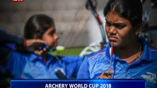 India win compound team silver, mixed team bronze at Berlin Archery World Cup
