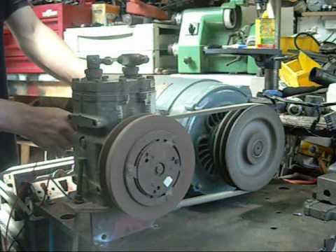 Tecumseh Automotive AC Compressor with Brook Elec Motor