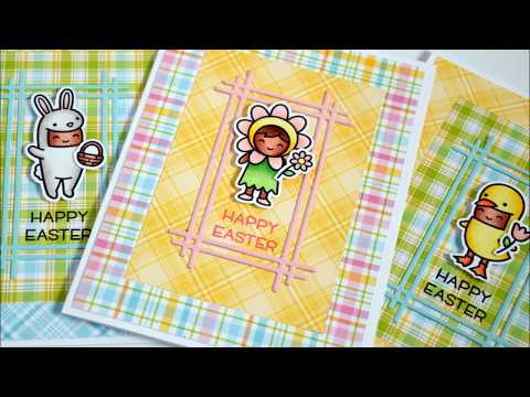Easter Cards for Lawn Fawn Lovers Collaboration- March 2018
