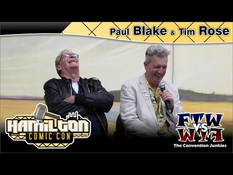 Paul Blake (Greedo) & Tim Rose (Ackbar) Hamilton Comic Con 2017 Full Panel