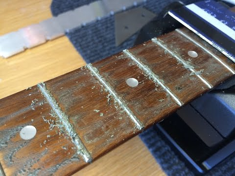 Clean & Oil a Fretboard - Part 1