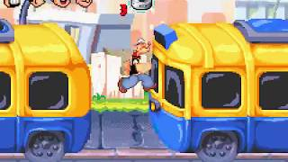 Game Boy Advance Longplay [176] Popeye: Rush for Spinach
