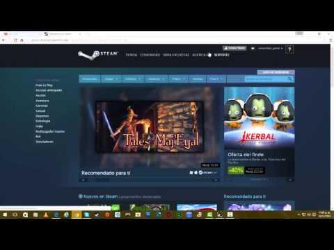 Como Crear Cuenta En Steam Bien Explicado (HD)