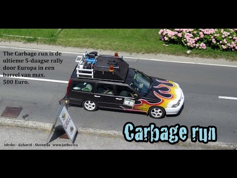 Carbage Run 2016 In Slovenië Idrsko Kobarid 06 07