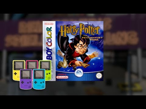 Gameplay : Harry Potter and the Sorcerers Stone [Gameboy Color]
