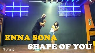 Enna sona 💓   Shape of you 💓  Dancepeople   KiranJ