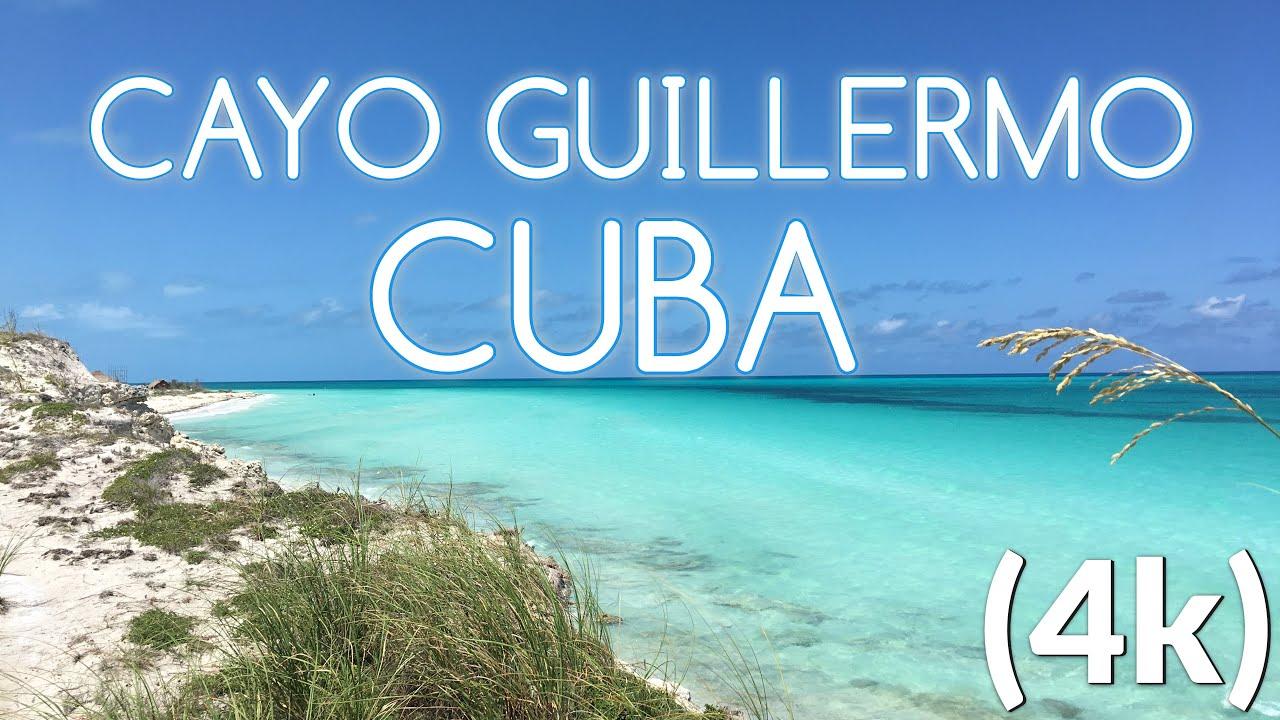Cayo Guillermo Beach , Cuba - YouTube  |Beach Cayo Guillermo Cuba