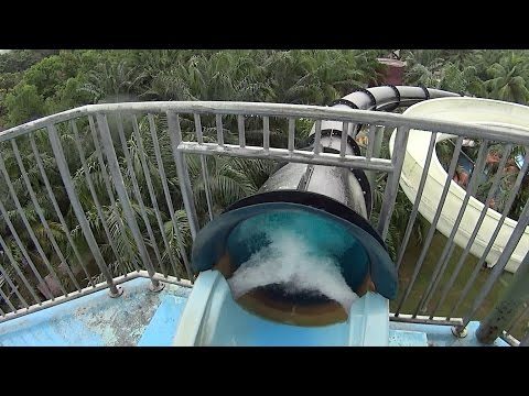Wicked Blue Water Slide at A'Famosa Water Theme Park