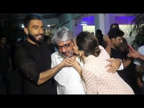 Deepika Padukone KISSES Sanjay Leela...