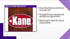KANE BEEF OWES CITY OF CORPUS CHRISTI 2.3 MILLION DOLLARS IN OVERDUE WATER BILLS