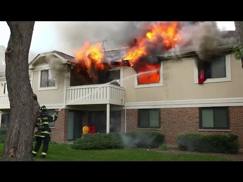 Mike Wulf - Full Version House Fire - Thornhill Court, Schaumburg, IL July 16, 2013