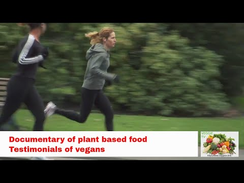 Vegan plant based food documentary, listen to testimonials of several people.