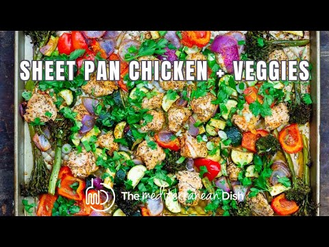 Easy and Healthy Sheet Pan Chicken and Veggies