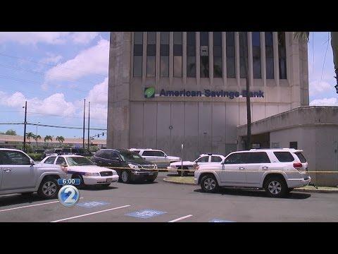 2 Armed Suspects Rob American Savings Bank In Pearlridge