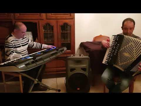 Spanish eyes - Yamaha Genos + accordion