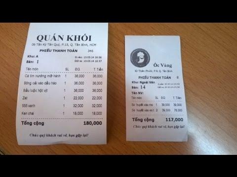 Phần Mềm Tính Tiền Trên điện Thoại, Máy Tính Bảng Miễn Phí Quán Cafe, Quán ăn, Nhà Hàng