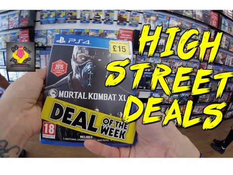 Super Cheap PS4 And Xbox One Games 2017 | Video Game Hunting | GoPro | TheGebs24