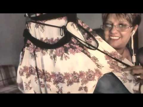 asmr soft whispering shop Clothing fabric sounds dressmaking for Pinaba 79 and MissAngela9