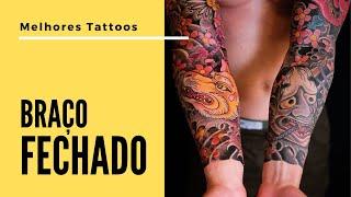 Perna manga elástica de tatuagem