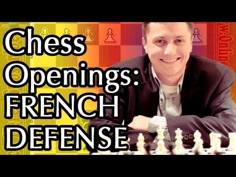 Chess Openings for Black - French Defense -  Part 2 - Tarrasch with 3. Nd2 - Beginner Chess Openings