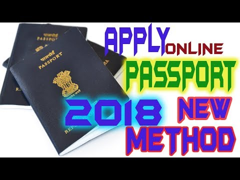 HOW TO APPLY  ONLINE PASSPORT 2018 NEW METHOD IN INDIA  (NEW AND RENEWAL )