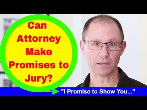 Can Your Attorney to Make Promises to the Jury During Your Medical Malpractice Trial in NY?