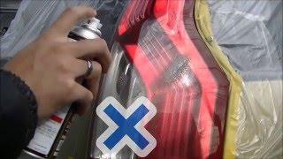 【液体フィルムスプレー テールレンズ塗装編② 】液体フィルム  液体ラバースプレー 液体フィルムスプレー  S Design ティーエスエム thumbnail