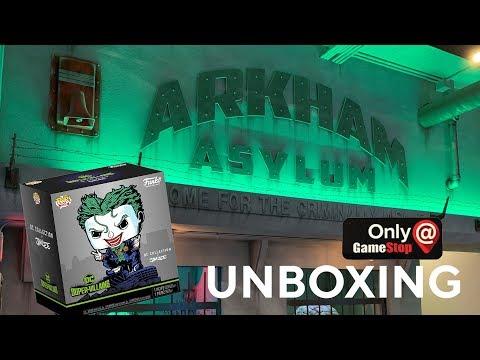 GameStop Exclusive Jim Lee The Joker Pop Deluxe and Tee Unboxing