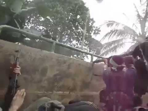 Communist rebel assault on a Philippine Army outpost in southern Philippines goes bad.