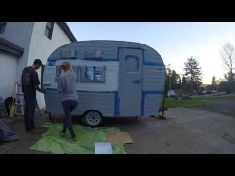 Camper Renovation - Start to Finish - YouTube