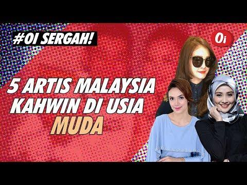 5 Artis Malaysia Kahwin Di Usia Muda, Yang No.3 Tu Paling Untung Woii!