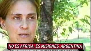 No es África  es Misiones, Argentina   70 20 11   eltrecetv com ar