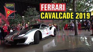 Ferrari Cavalcade International at Ferrari World Abu Dhabi