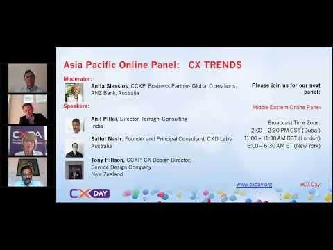 2017 CX Day -  Asia/Pacific Panel on  CX Trends