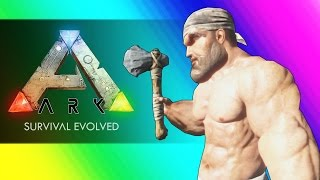 vuclip Survival of the Freaks & Dinosaurs! (Ark Survival Evolved Funny Moments)