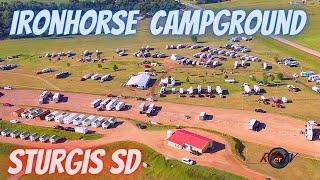 Ironhorse Campground Sturgis Soขth Dakota