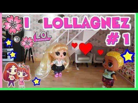 I LOLLAGNEZ! ep.#1 Una Domanda Difficile! Lol surprise Lov eStory by Lara e Babou