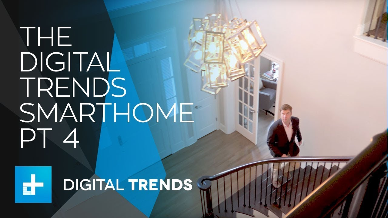 Using the Digital Trends Smarthome with Control4 and Alexa