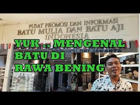 Yuk Mengenal Batu di Rawa Bening Jakarta Gems Center