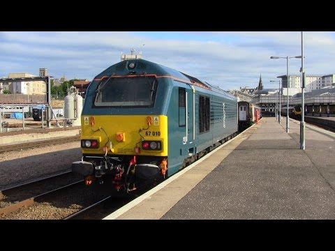 (HD) The Caledonian Sleeper - London Euston to Aberdeen 23-24/07/2015