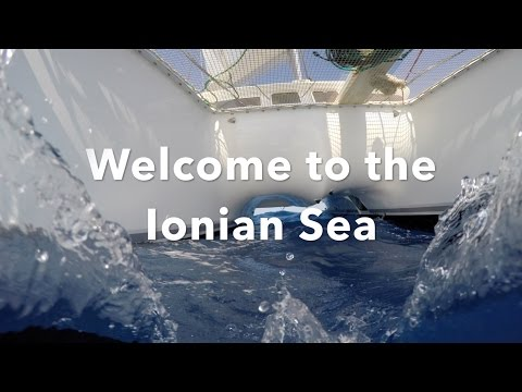 Ionian sea:  Sailing from Italy to Greece (#10)