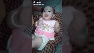 Funny baby voice