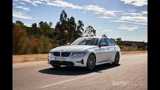 The new 2019 BMW 320d