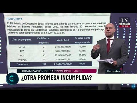 Urbanización de barrios populares, ¿otra promesa incumplida? El informe de La Cornisa.