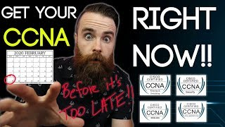 Gambar cover Get your CCNA RIGHT NOW!! (before the new CCNA 200-301)
