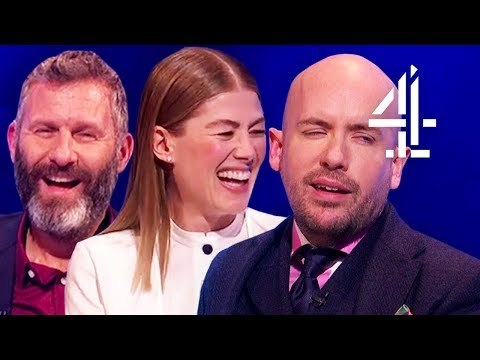 Talking About Will Smith's Genie in Aladdin with Tom Allen & Rosamund Pike!   The Last Leg